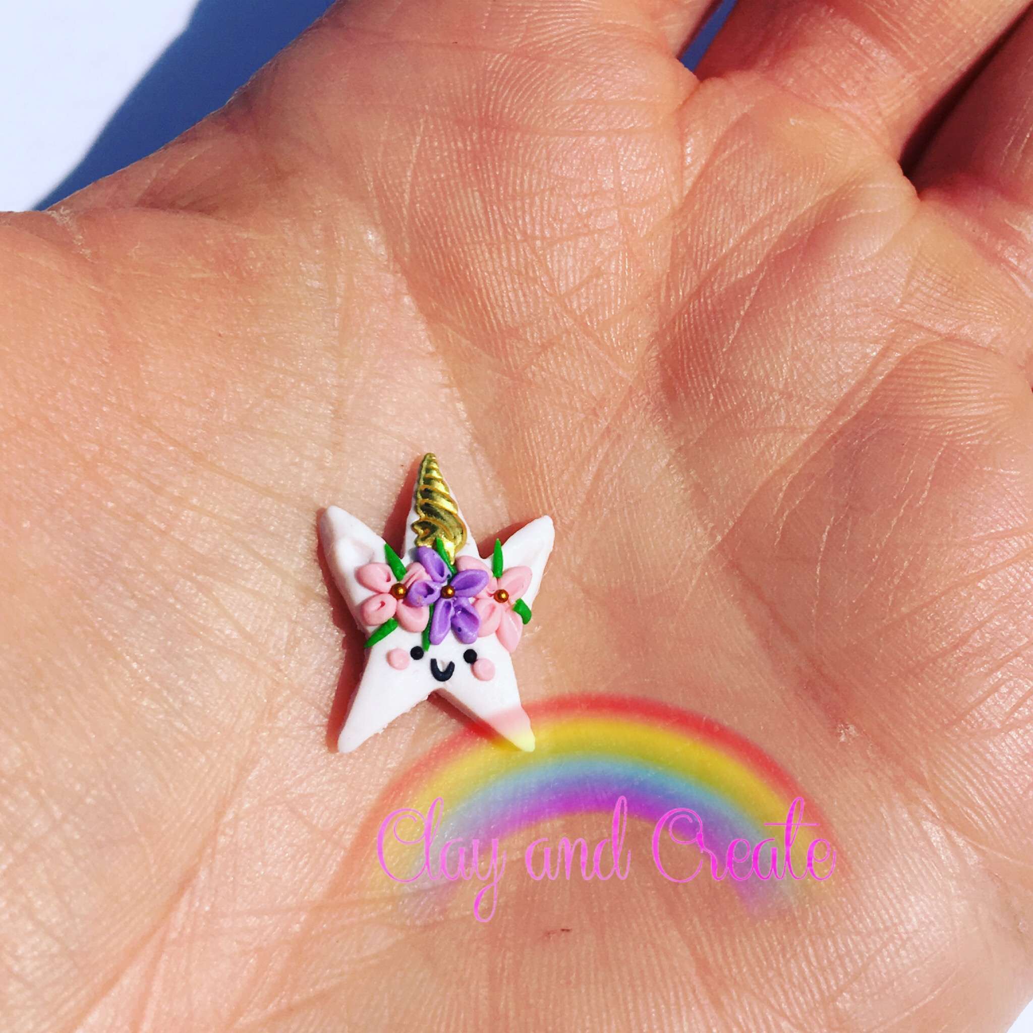 Tiny unicorn star