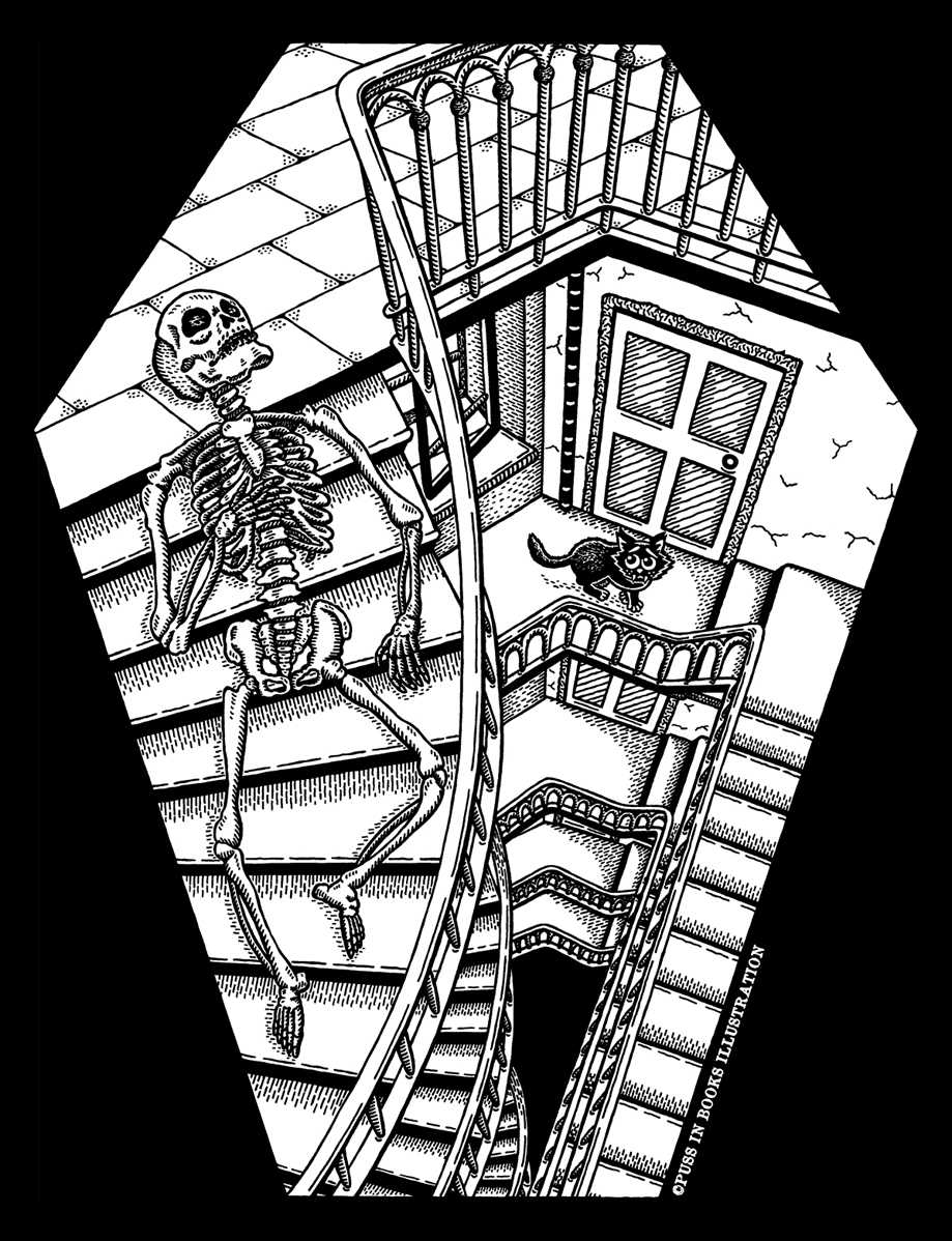 Stairways to Death by Jenny Bommert, 2017