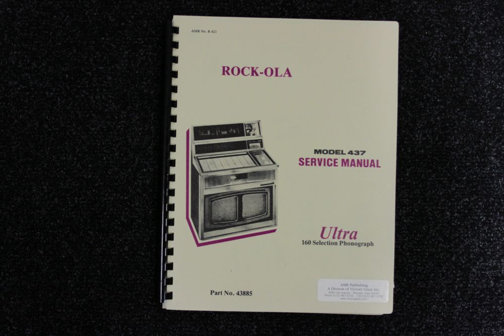 Rock-ola - Service Manual - Model 437