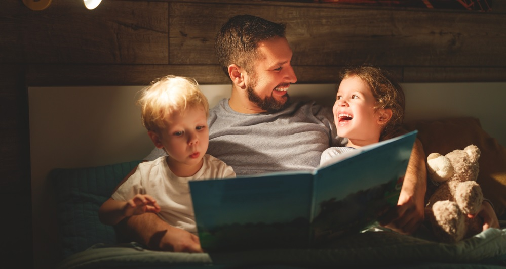 Creating good reading habits in young children