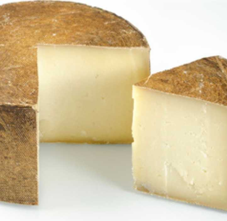 An extra large wheel of Galloway Farmhouse Cheese