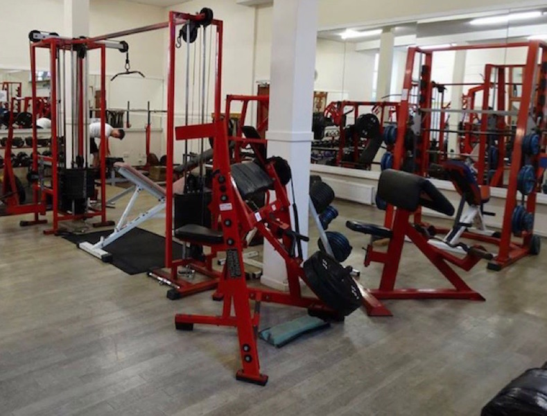 Gym equipment at AA Fitness Studio Dumfries