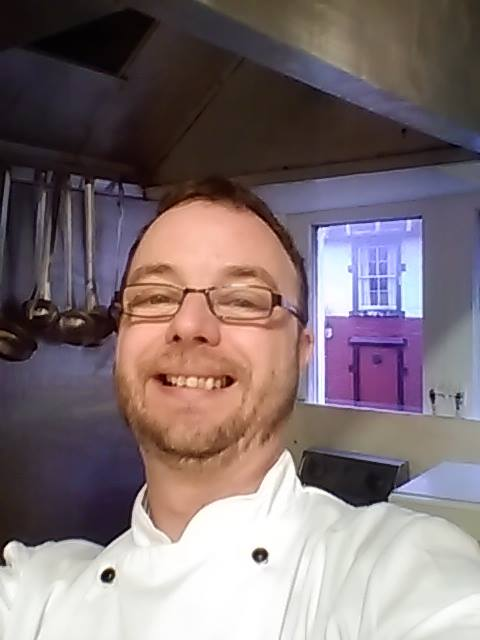 Will Gill, Chef / Proprietor of the Auld Alliance Restaurant Kirkcudbright
