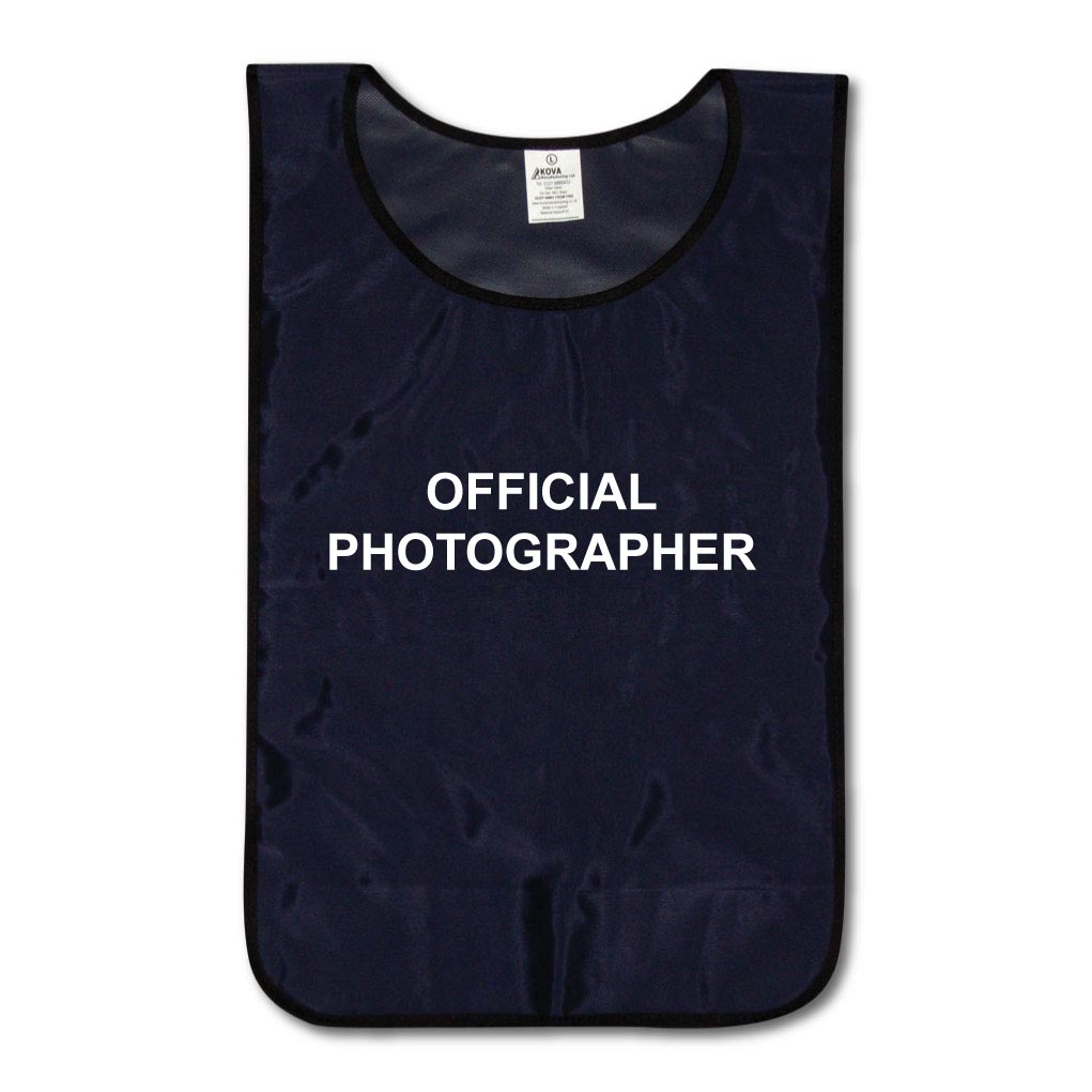 Official Photographer Tabards