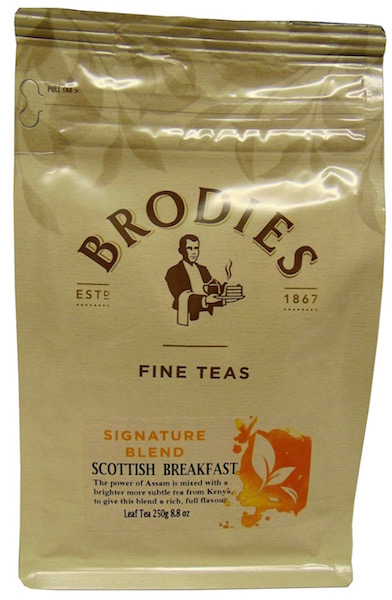 Brodie Melrose Scottish Breakfast Loose Leaf Tea
