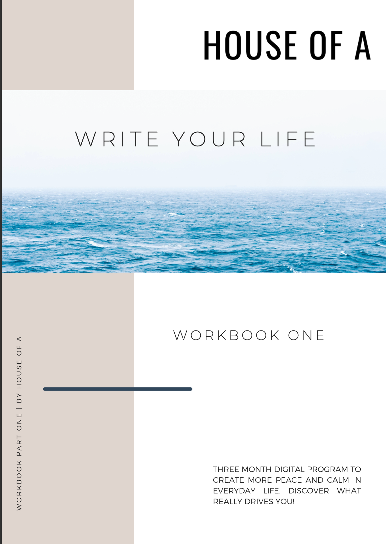 Write Your Life Program (one month payment)