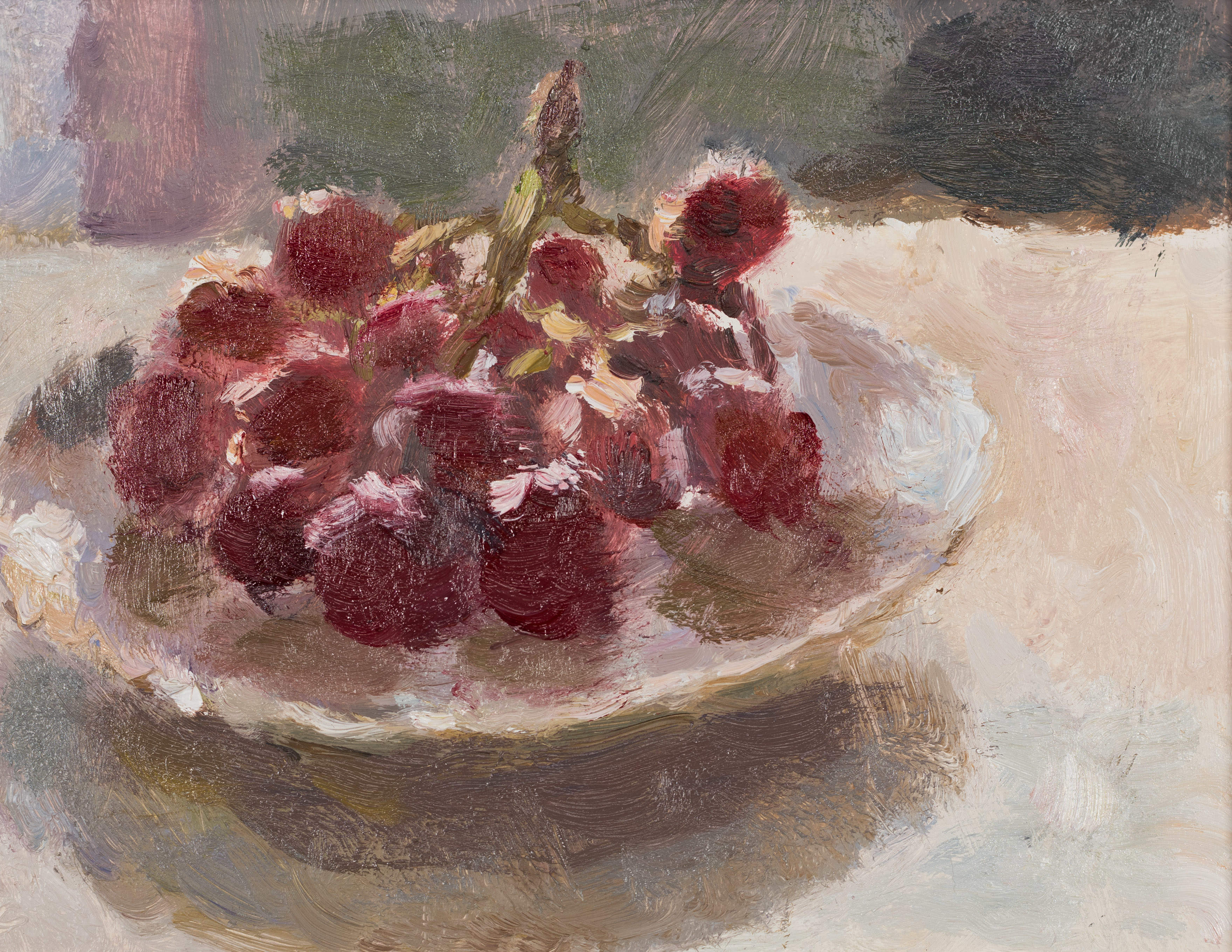 Grapes in a Saucer