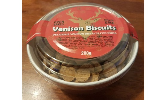 Christmas Venison Biscuits