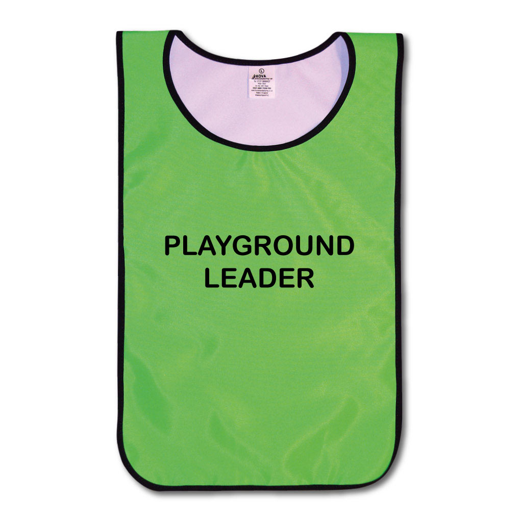 Children's Playground Leader  Nylon Tabards - Various Colours