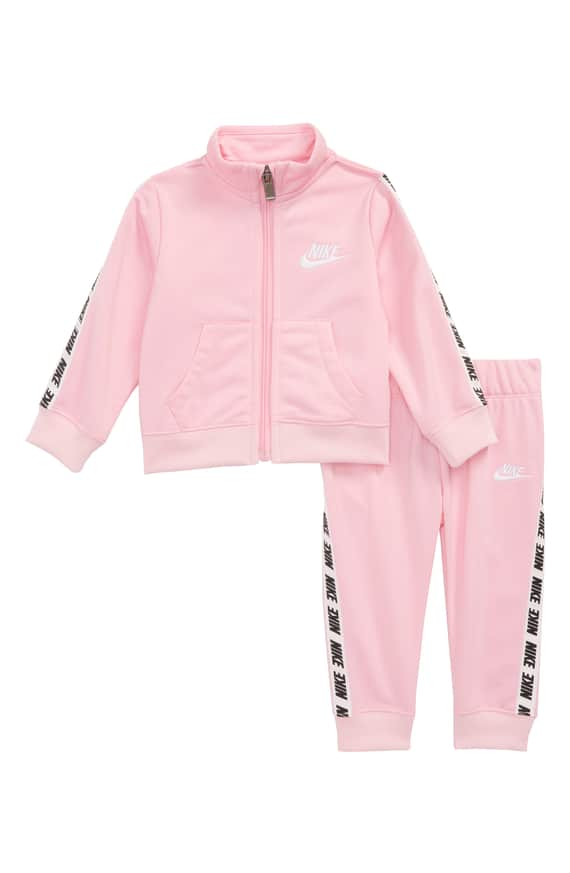 Nike NSW polyester Suit Pink-Black-White