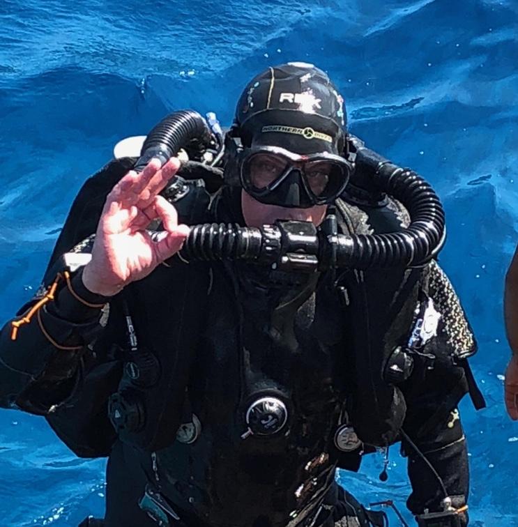 Poseidon Rebreather Diver Training