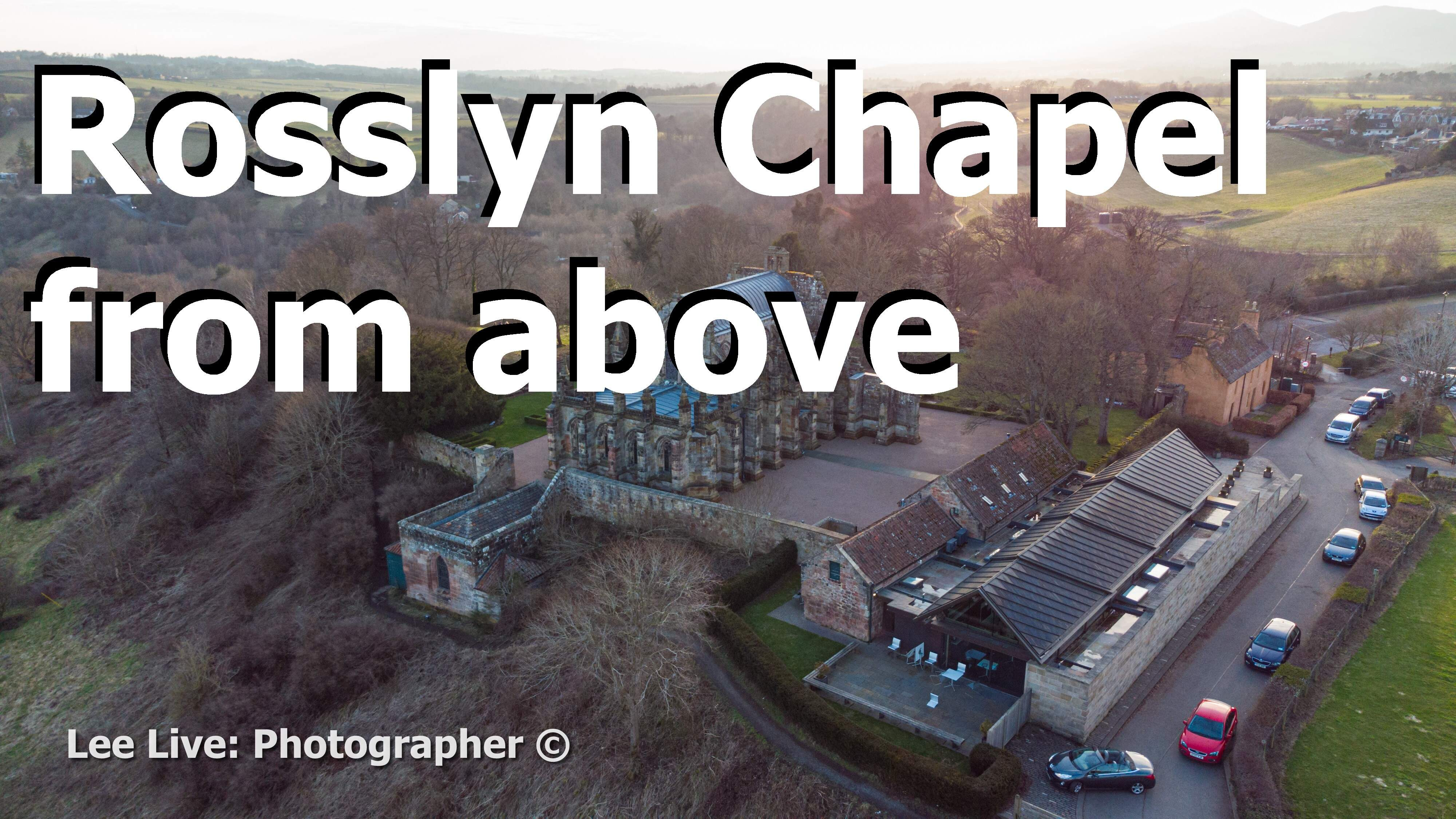 Aerial Drone Videography: Rosslyn Chapel