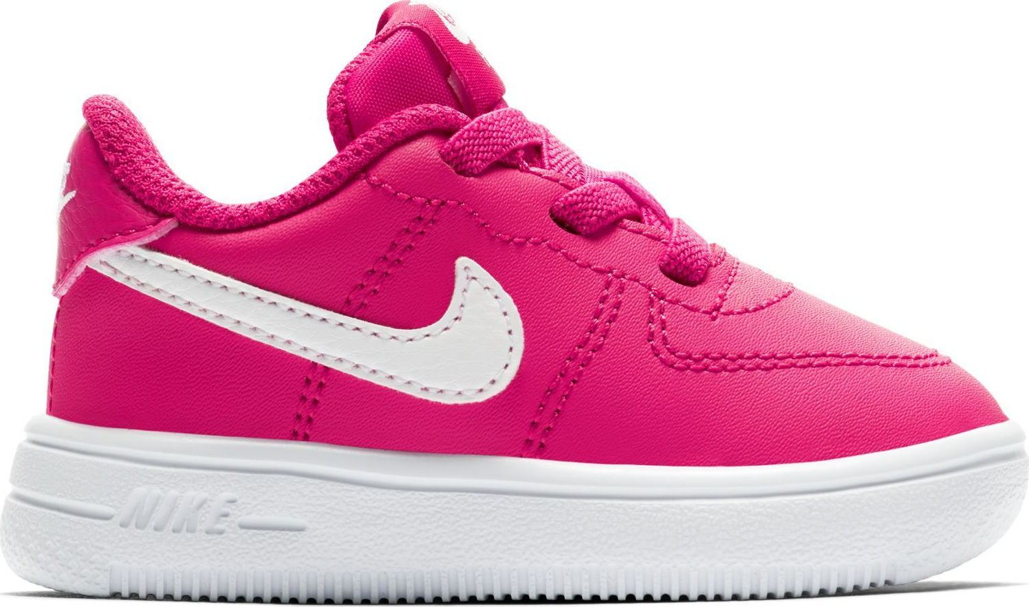 Nike Air Force One (Soft Sole) Rush Pink-White