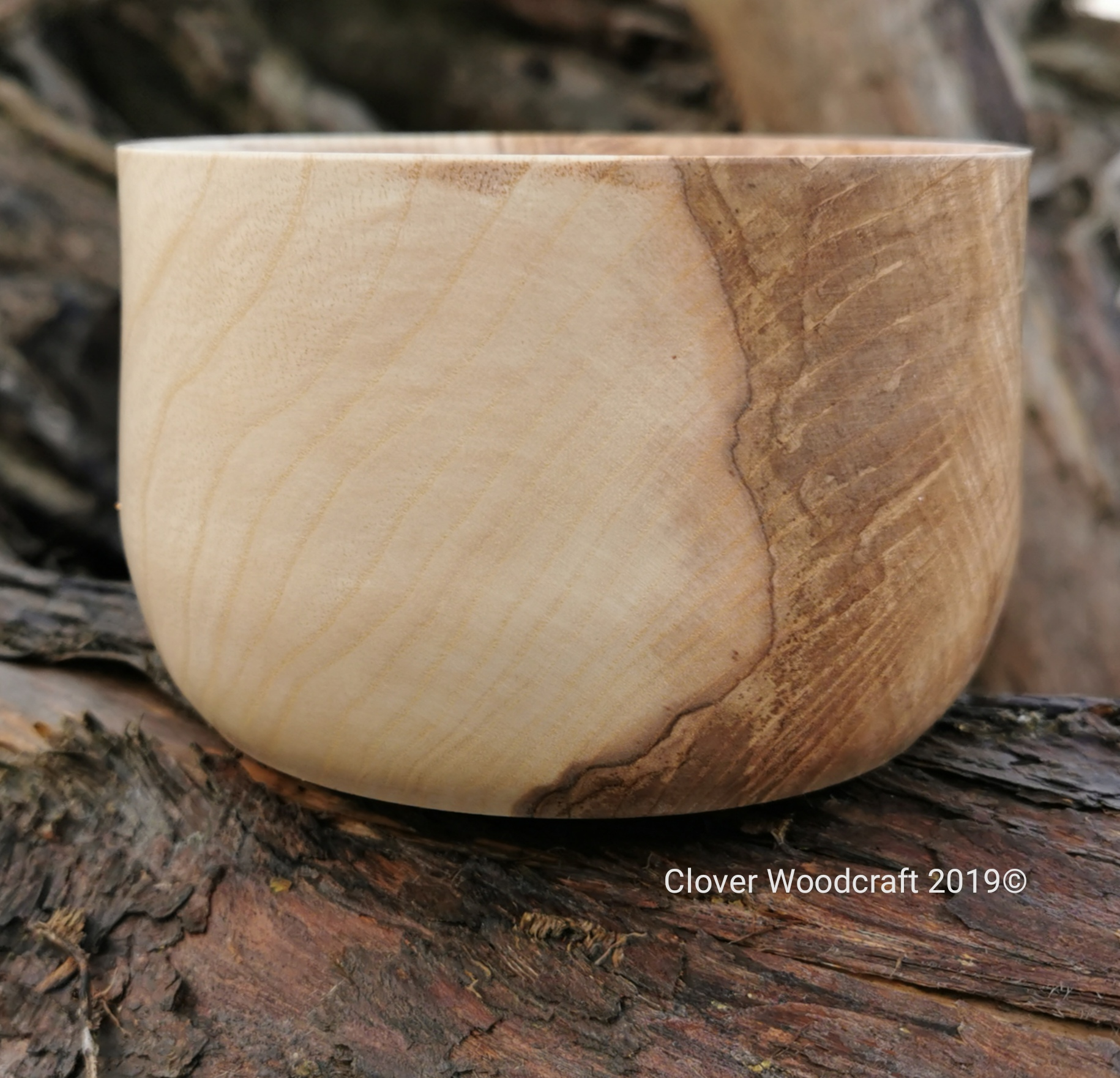 Olive Ash Nut/Treat Bowl