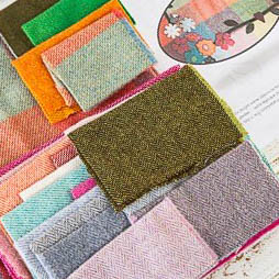 Fabric Affair: Complete Spring Garden Quilt Kit.  Designed by Margaret Lee.