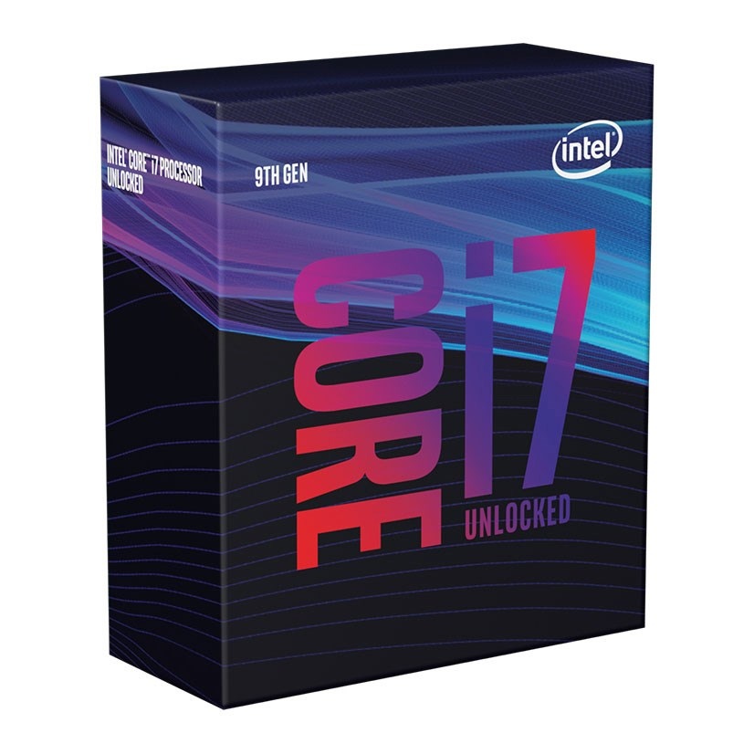 Core i7-9700K 3,6 GHz (Coffee Lake) Socket 1151