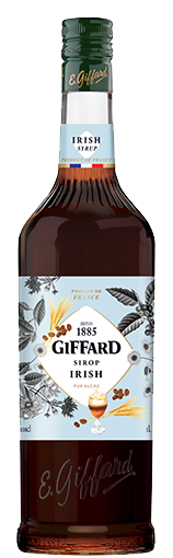 Limonade- en koffiesiroop Irish coffee van Giffard