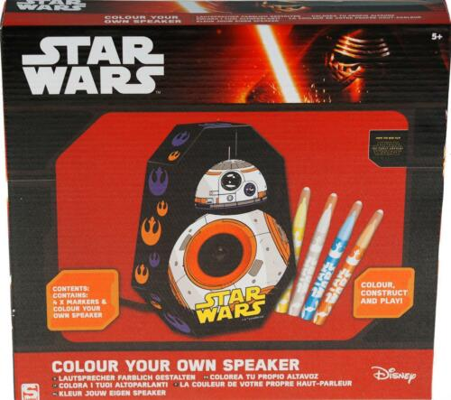 Star Wars BB8 Colour Your Own Speaker