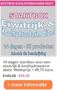 14 dagen startbox eiwitrijk en koolhydraatarm dieetjpg