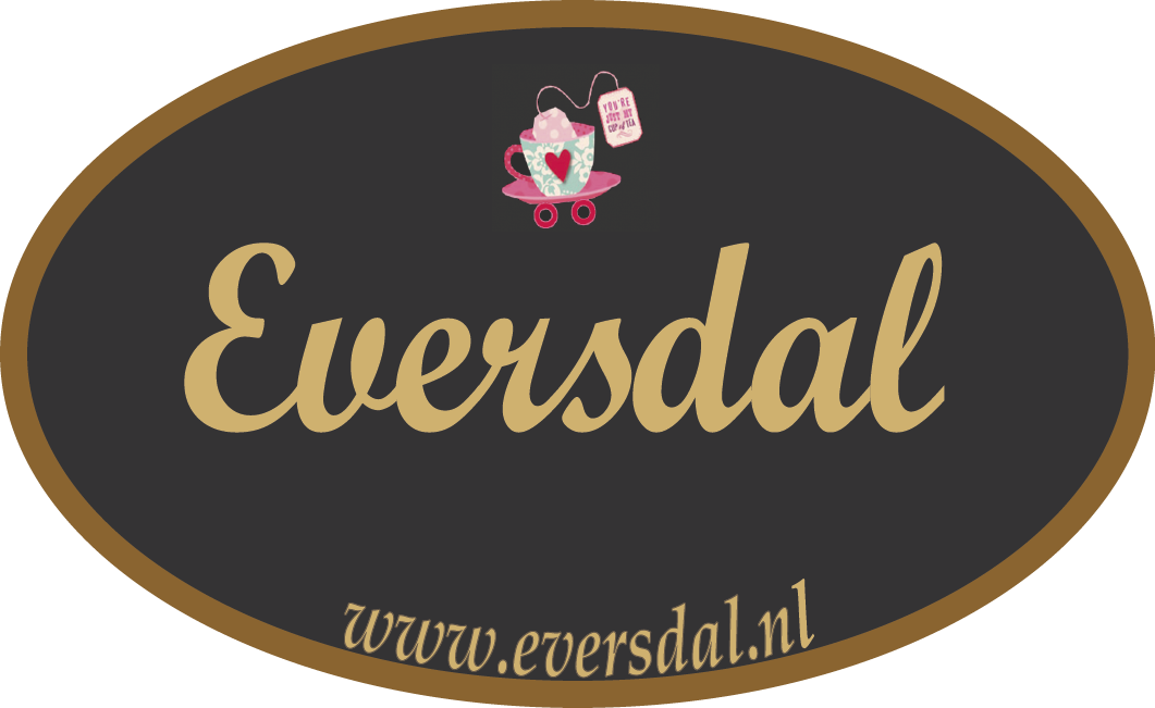Krijtstiftje Posca en Eversdal Sticker