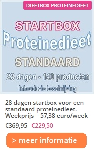 28 dagen startbox proteinedieet standaardjpg