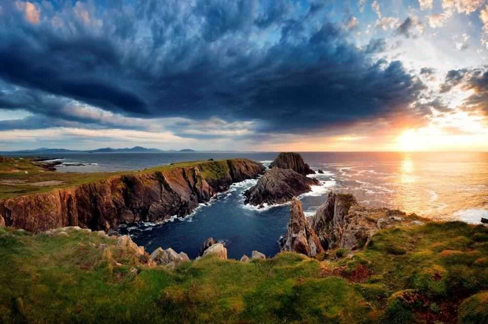 Malin Head - Ireland's most northerly point.