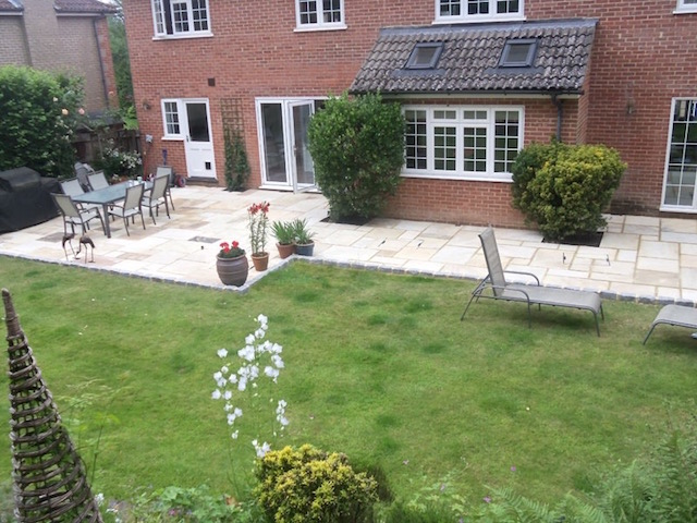 Patio builders Lightwater, Surrey