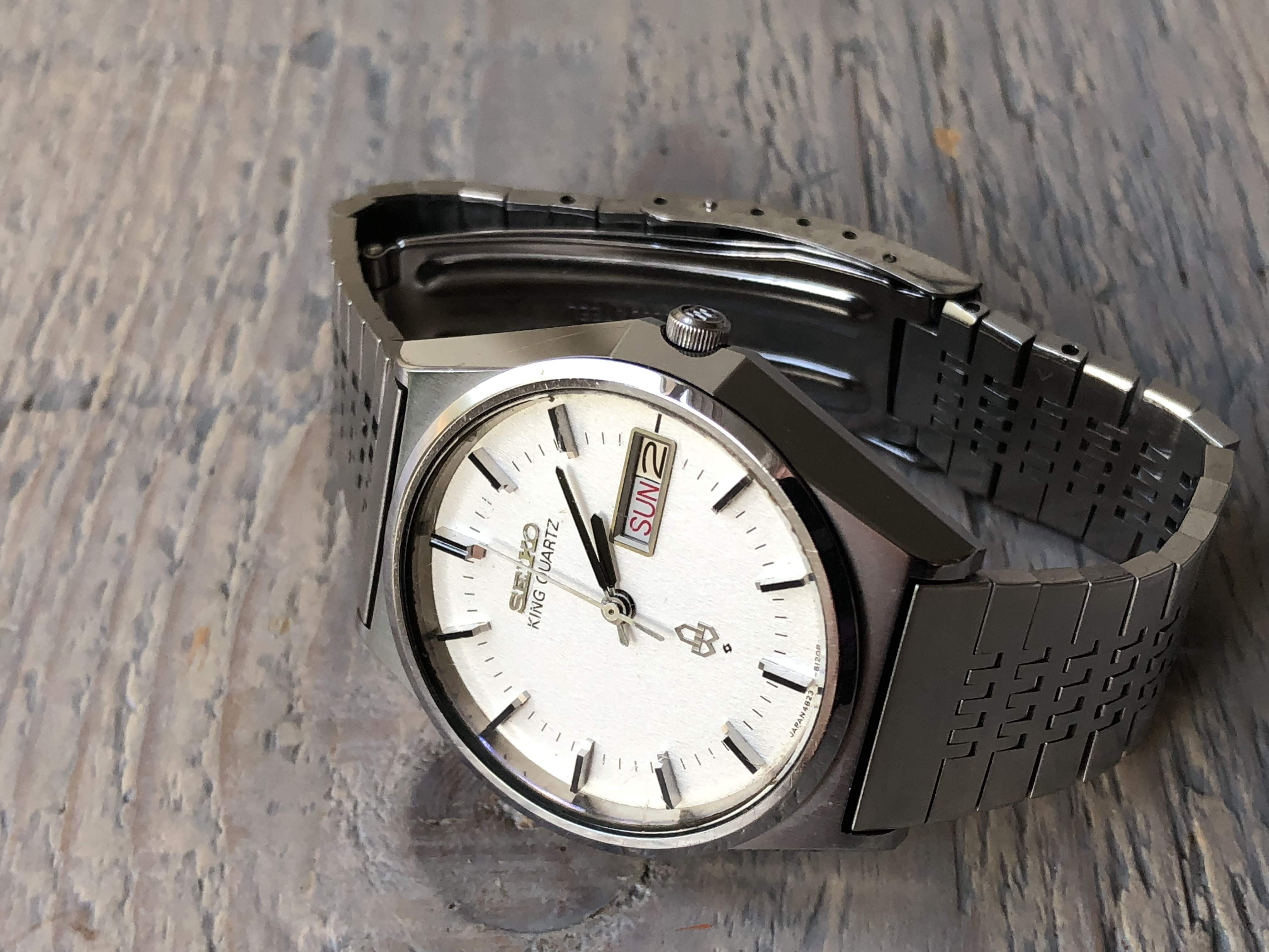 Seiko King Quartz 4823-8120 (Sold)