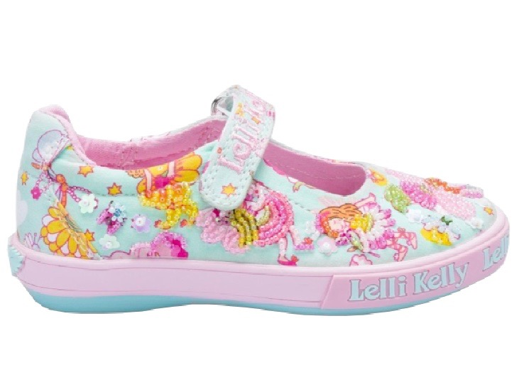 Lelli Kelly floral summer sandal for baby girls