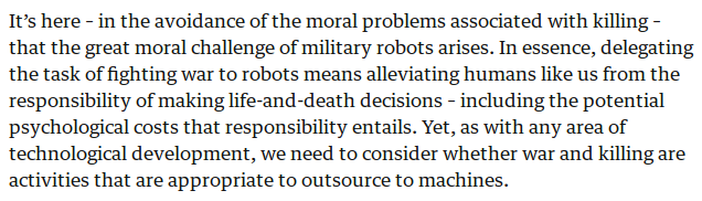 Robots lack moral questions in killingpng