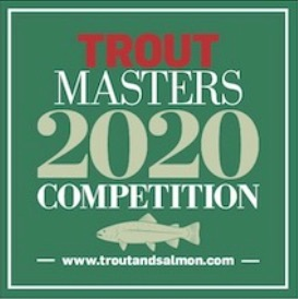 Troutmasters 2018 angling competition logo