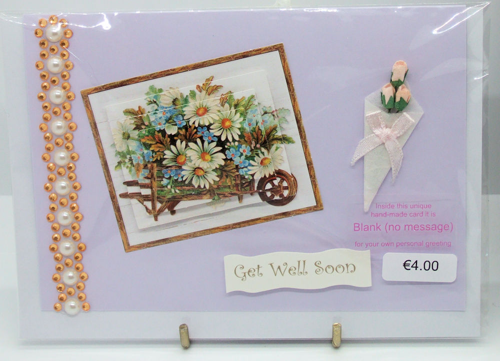 Handmade 'Get Well' Card - 62