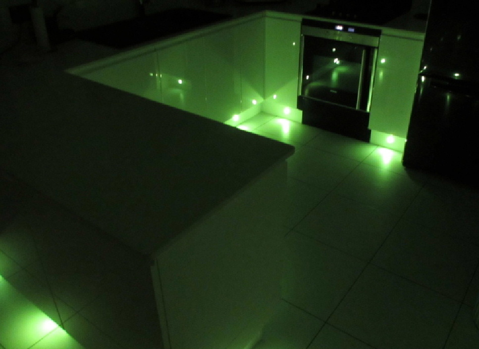 Digital LED lighting for the home