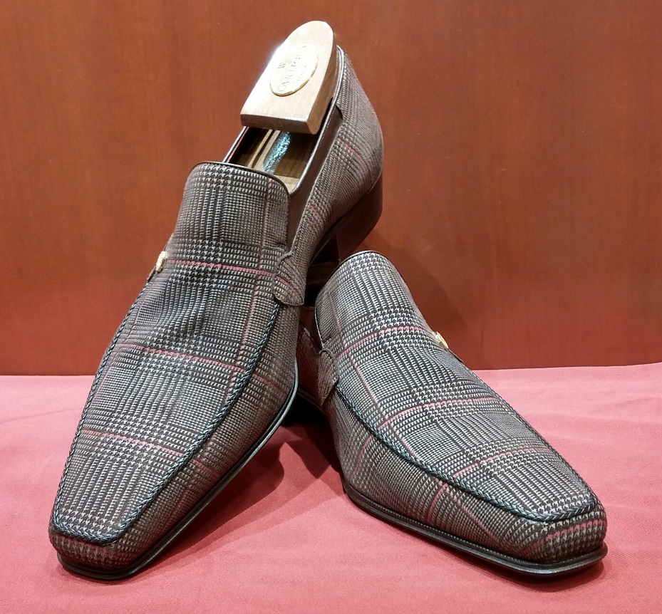 Loafer Model 6P228 Brown Check