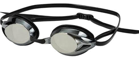 Hilco Zenith Adult Narrow Fit swim goggles Black