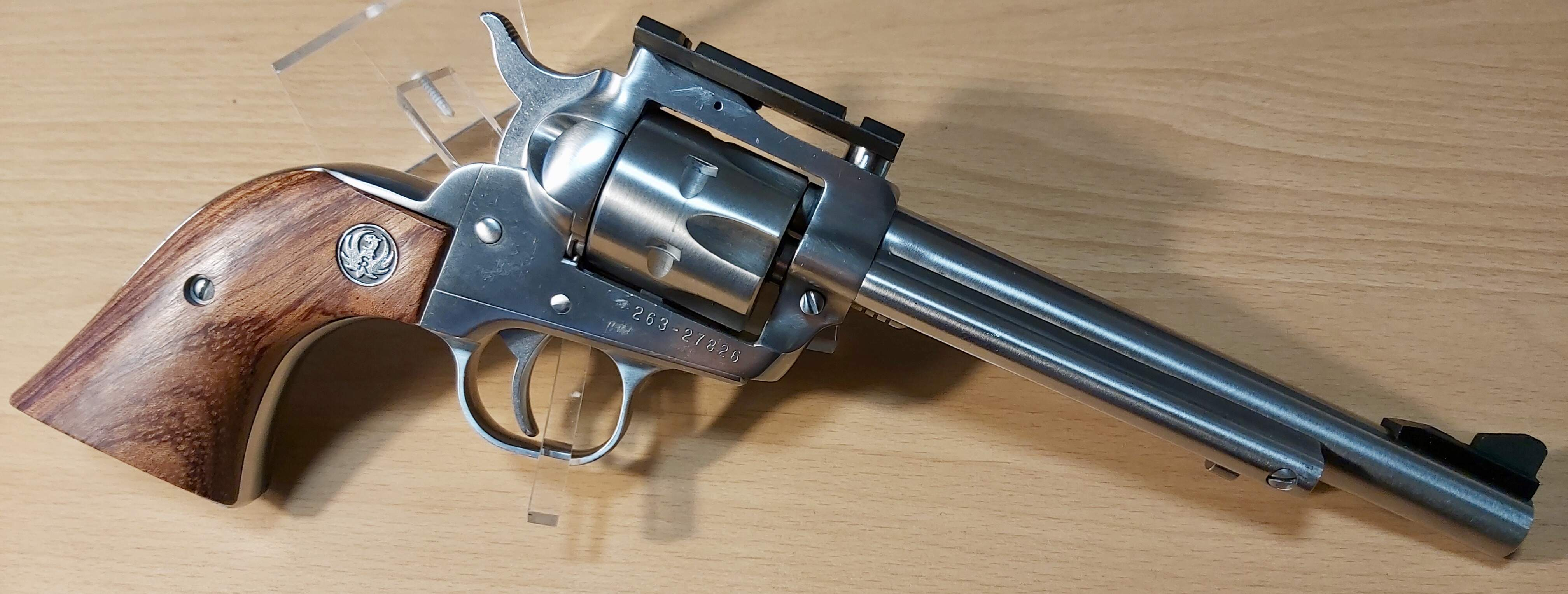 Ruger new model single six, .22lr, prijs 500€