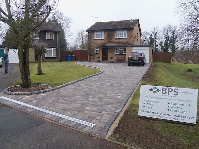 Block Paving Surrey Datchet, Berkshire
