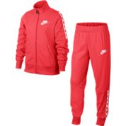 Nike NSW Poly Tracksuit Dark Pink-White