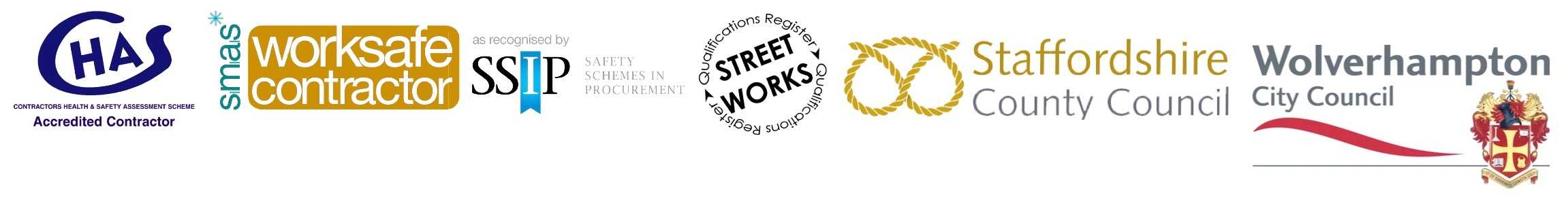 County Groundforce are CHAS and Street Works accredited tarmac and block paving contractors