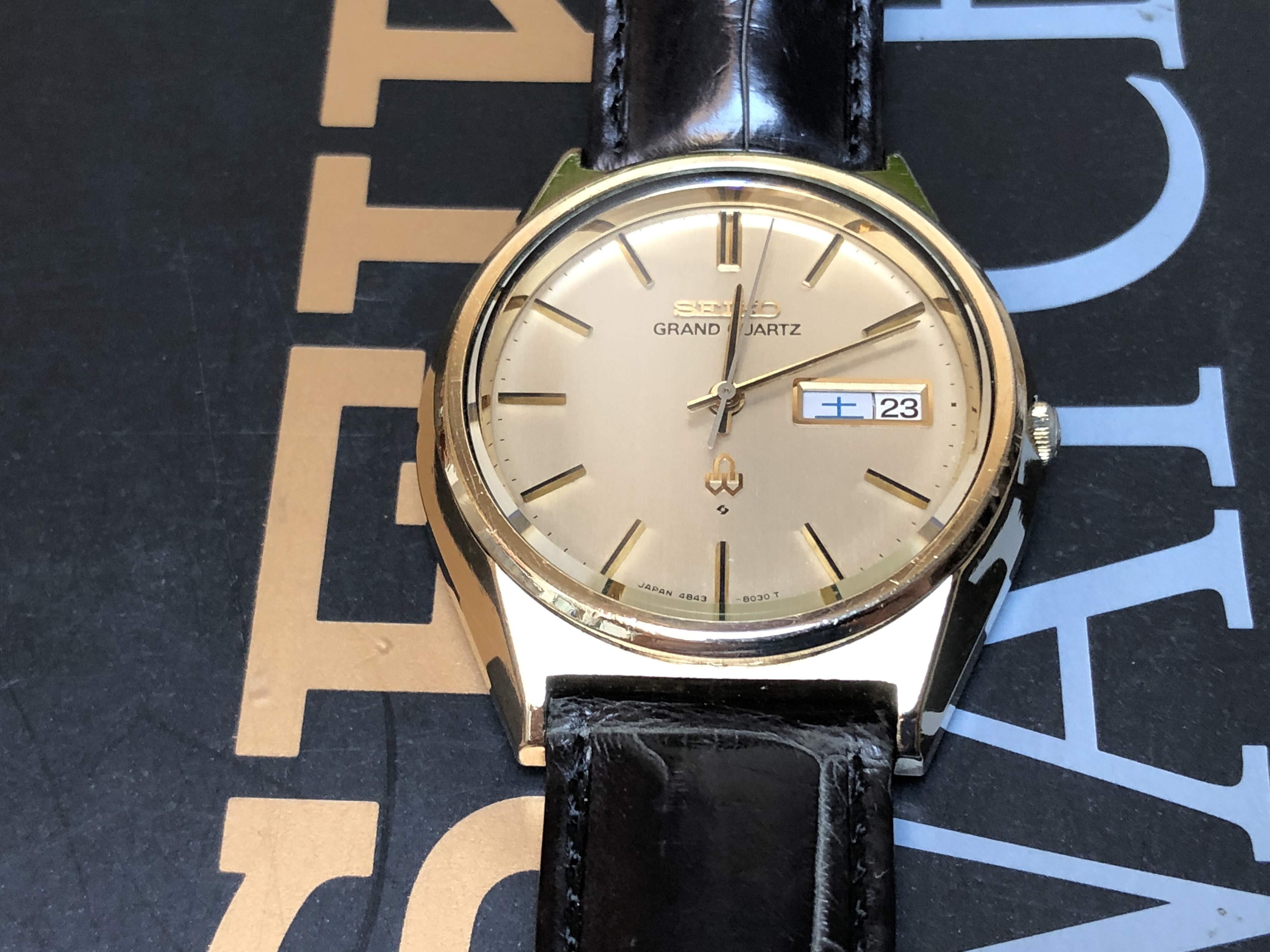 Seiko Grand Quartz 4843-8040 CG (Sold)