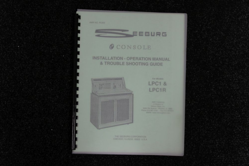 Seeburg - Installation and Operation Manual - Model LPC1 & LPC1R