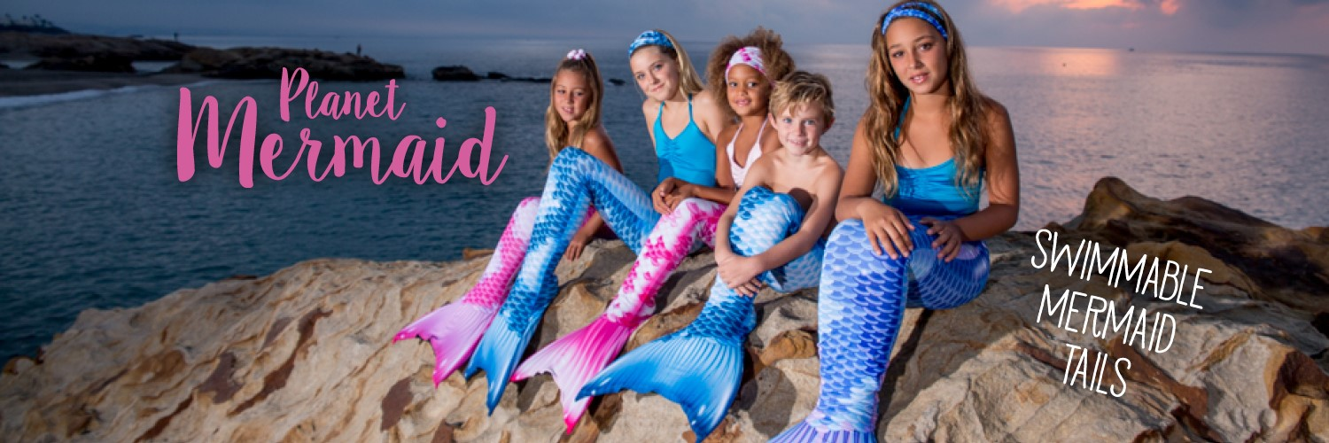 Realistic Swimmable Mermaid Tails from Planet Mermaid UK