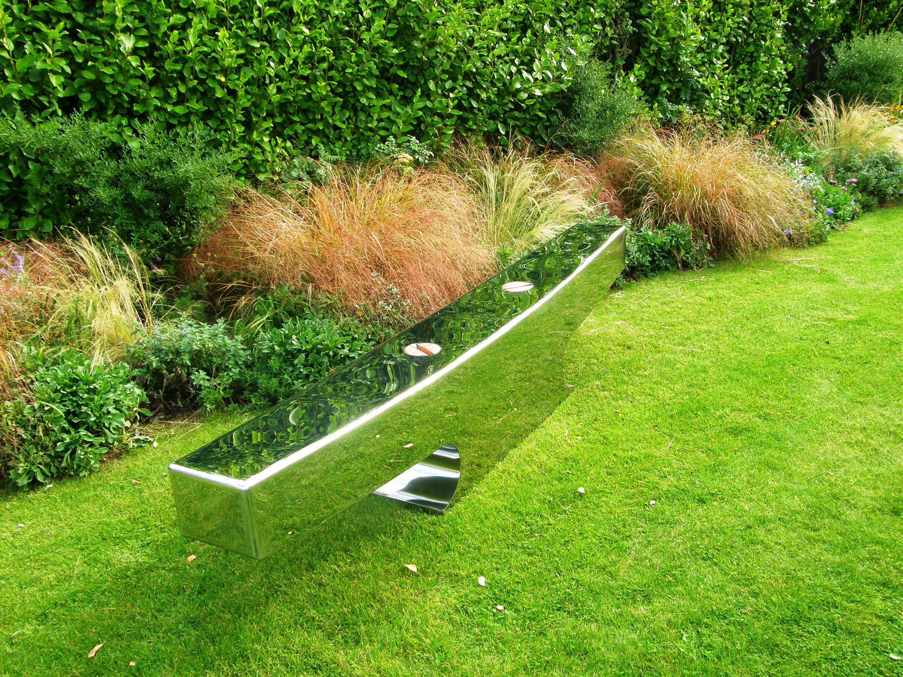 Garden Sculpture or Outdoor Seating - Beautiful or Practical or Both?