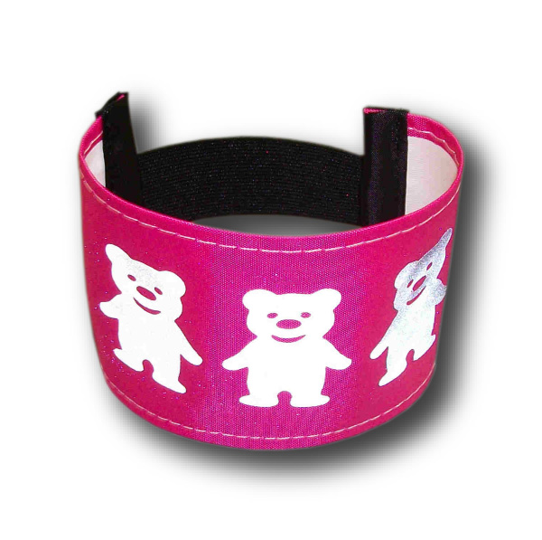 Armbands With Reflective Teddy Motif. Adult's and Children's Sizes.