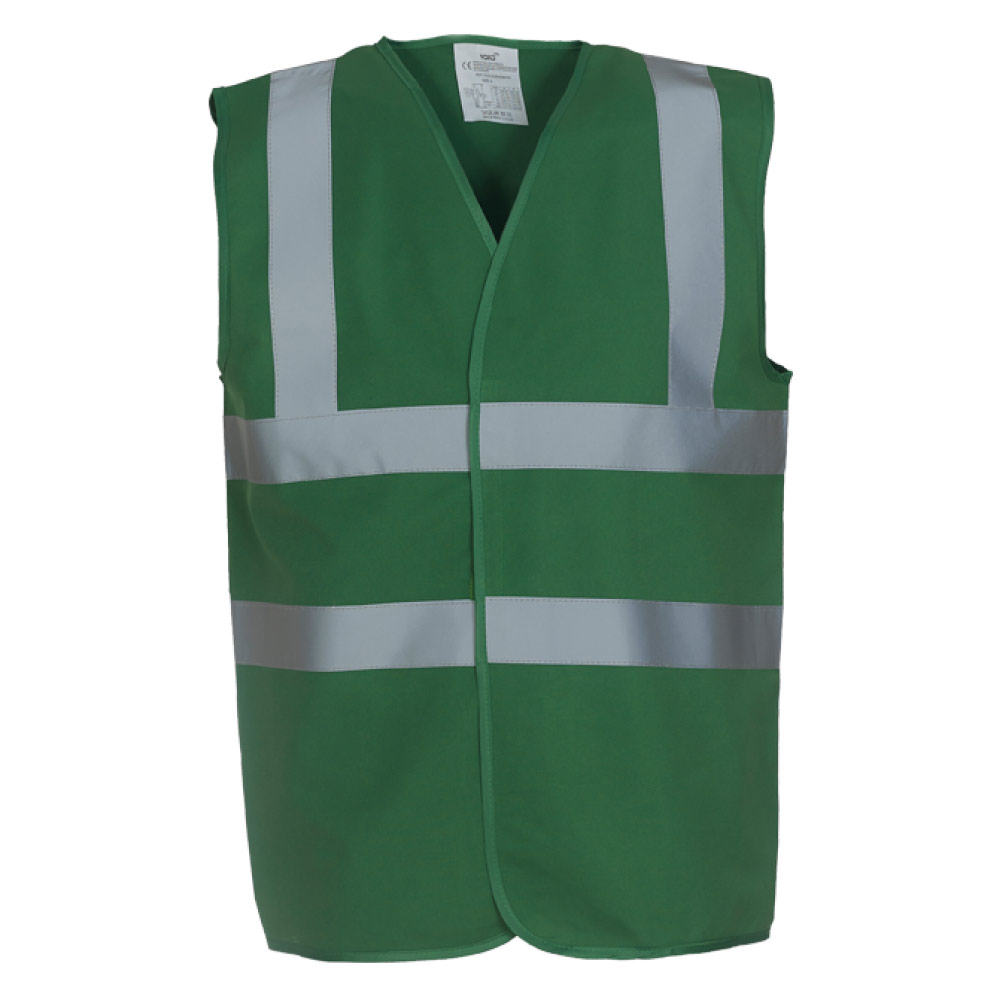 Paramedic Green High Visibility Safety Vests