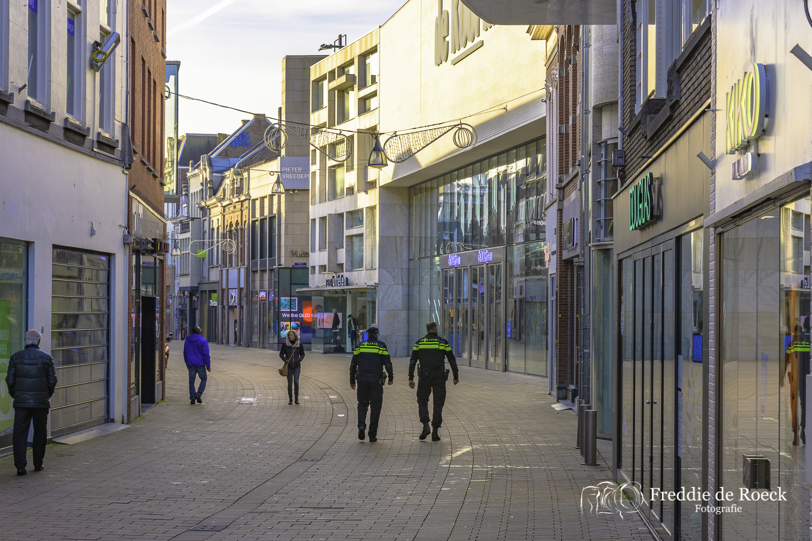 Fotoserie: Lockdown in Tilburg Centrum