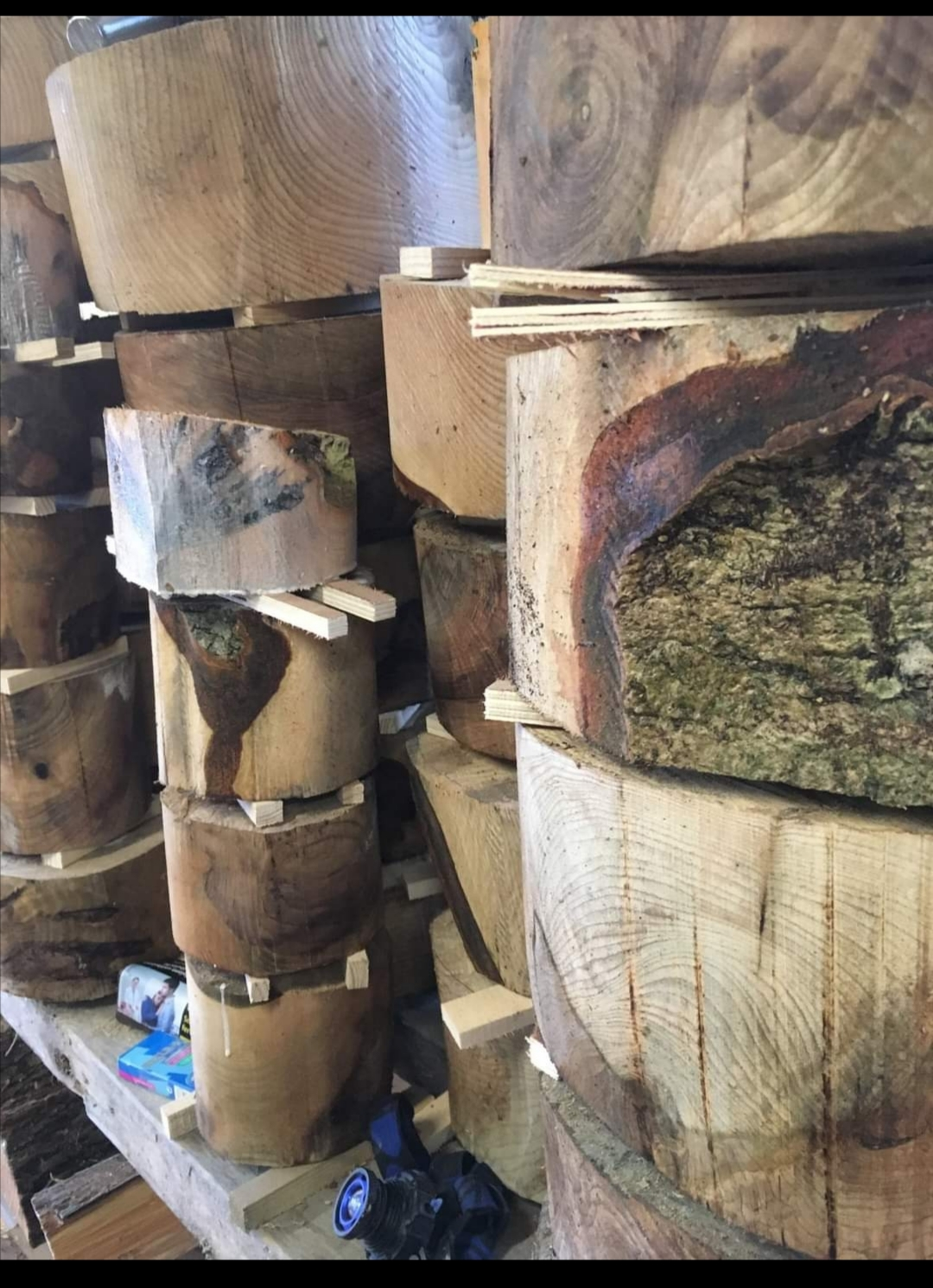 Our processes ,how we turn a tree into one of wood turned gifts.