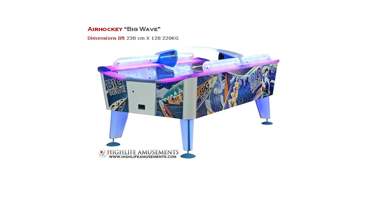 "Airhockey ""big wave"""
