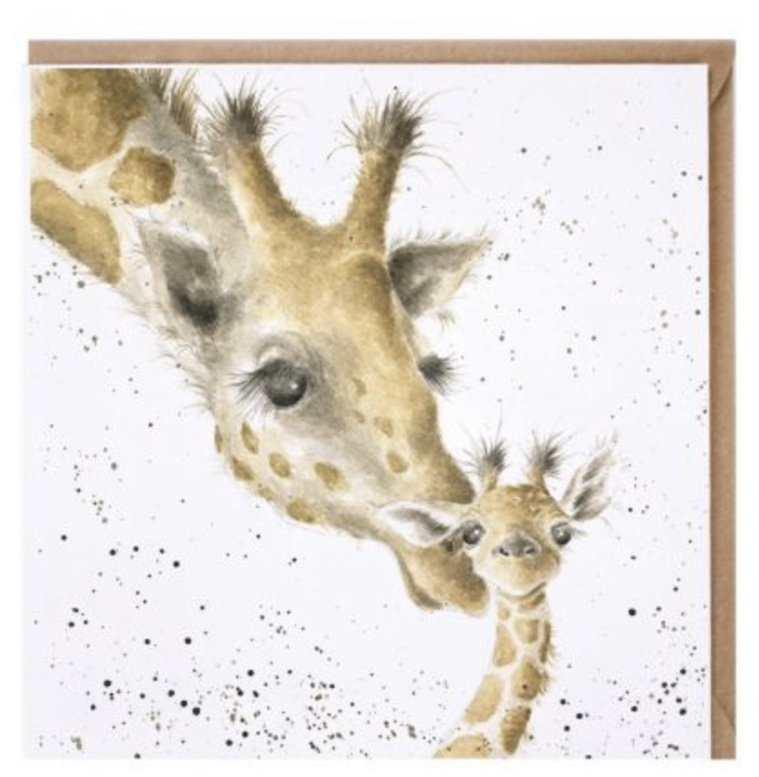Wrendale Giraffe Greetings Card