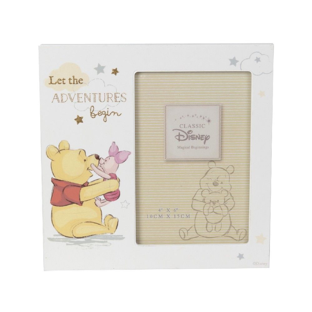 "Disney Pooh Photo Frame 4"" x 6"""